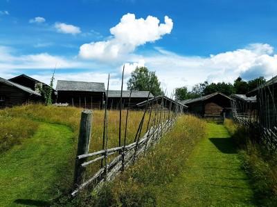 Norrboda Gammelstan. Bild från Ore hembygdsförenings Facebooksida.